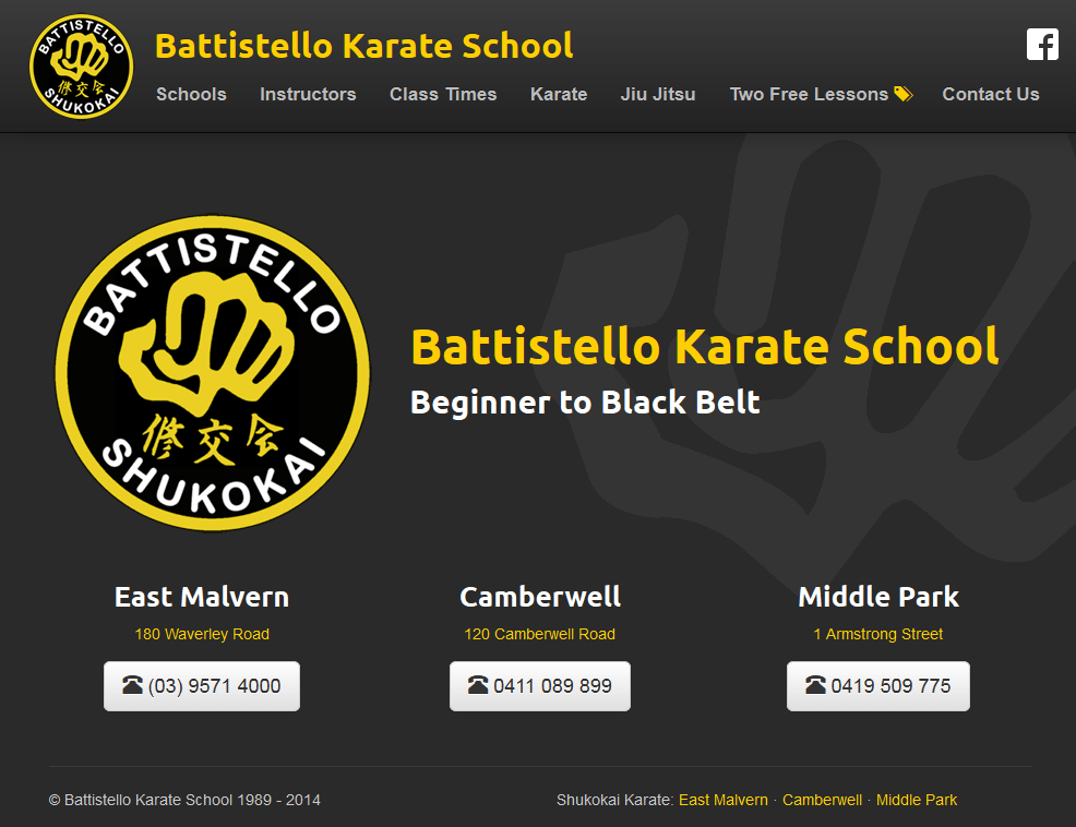 Battistello Karate